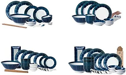 Tazón, juego de tazón (15/23/32/38 piezas) Tazón de porcelana + Se ...