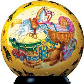 Ravensburger Puzzleball Christmas Old World Toys