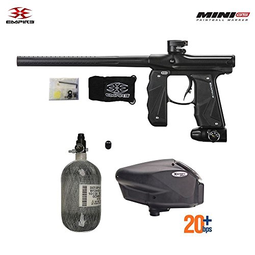 Empire Mini GS HPA Paintball Gun Package - Dust Black
