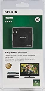 Hdmi 2 In/1 Out Switch Plated In B by Belkin