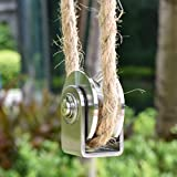 Pulley Wheel with 2 Bearing, Shoulder Pulley Cable