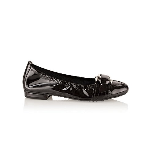 Kennel Und Schmenger Buckle Ballet Pump Black Patent