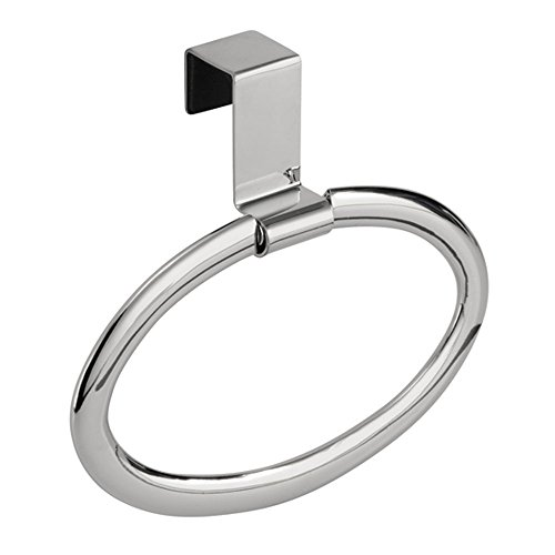 InterDesign Axis Over the Cabinet, Swing Loop, Chrome