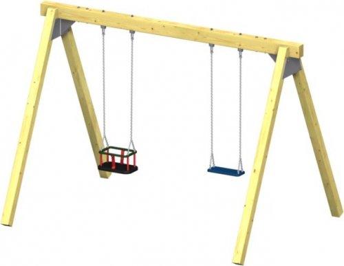 Schaukel Winnetoo Pro Variation 13 - öffentliche Spielanlagen