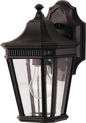 Feiss OL5400GBZ-LED Cotswold Lane LED Outdoor Patio Wall Lantern, 1-Light, Bronze (7
