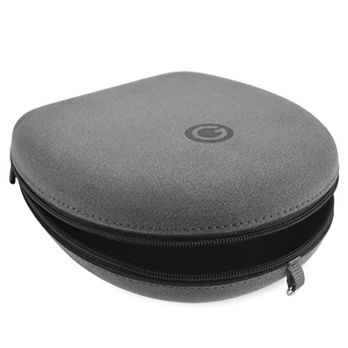 Geekria Microfiber Headphones Case for B&O PLAY by BANG & OLUFSEN BeoPlay H2, H6, H8 / Headphone Hard Carrying Case / Travel Bag