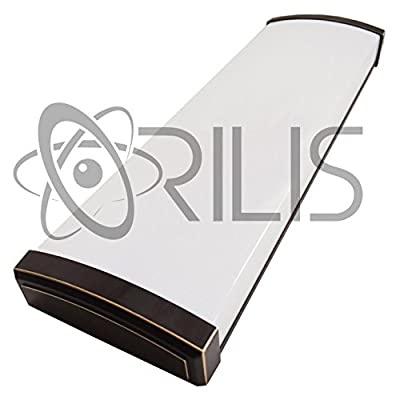 Orilis Oil Rubbed Bronze Decorative 80W 4 Ft. 2-light LED Wraparound Ceiling Fixture with 2x LED T8 40 Watt Tubes - 6500K - 8000 Lumens