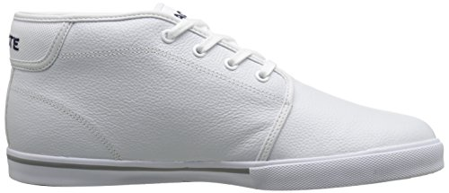 Lacoste Heren Ampthill Lcr Fashion Sneaker Wit / Wit