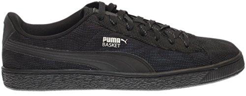 PUMA Mens Basket Rainbow Reflektierend Schwarz / Dunkel Schatten