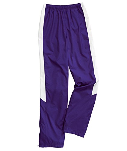 Charles River Apparel 5958 Women's TeamPro Pant,Maroon/White