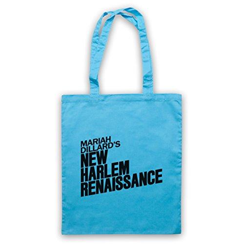Luke Cage Mariah Dillard's New Harlem Renaissance Bolso Azul Cielo