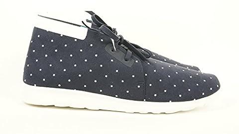 Native Shoes Embroidered Apollo Chukka - Men's Regatta Blue/Shell White/Polka Dot, 8.0 (Size 8 Native Shoes)