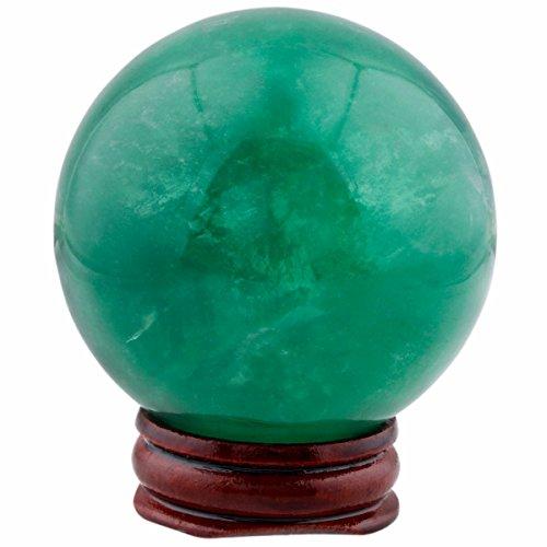 green fluorite crystal - 2