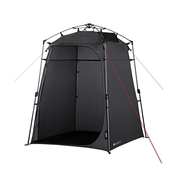 41hosdYUiHS Qeedo Quick Shower Cabin Camping Duschzelt und Umkleidezelt (Blickdicht) 2m Höhe