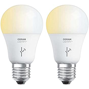 Sylvania Osram Lightify 60 Watt A19 Tunable Smart Home LED Light Bulb  2  Pack. SYLVANIA SMART  A19 Tunable White LED Light Bulb  60W Equivalent