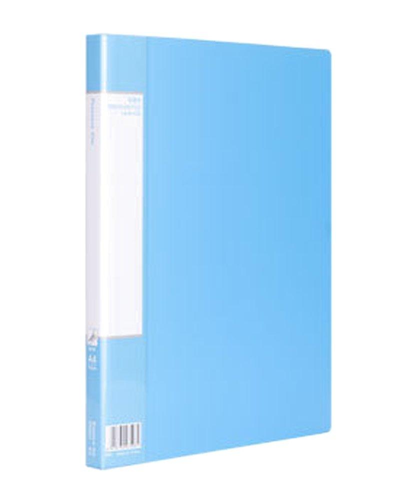 Drasawee plástico archivo Documento Holder de Doble Clips Carpeta de Holder almacenamiento de papel A4 tamaño, color multicolor 5b09d9