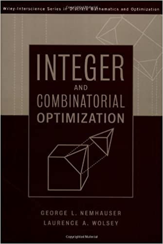 Book Integer and Combinatorial Optimization by Laurence A. Wolsey (1999-11-15)
