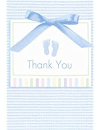 Soft Blue Thank You Notes w/ Envelopes (8ct) BOBEBE Online Baby Store From New York to Miami and Los Angeles