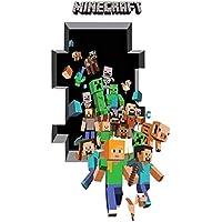 Epic Gifts Minecraft Wall Decal Sticker 3D Cartoon...