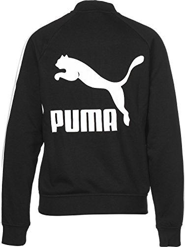 Puma T7 Donna Giacca Logo Black Track Classics Cotton TrxfABHqTn