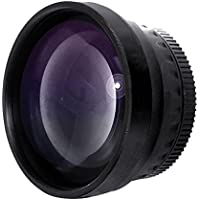 New 2.0x High Definition Telephoto Conversion Lens For Pentax K-50 (Only For Lenses With Filter Sizes Of 49, 52 or 58mm)