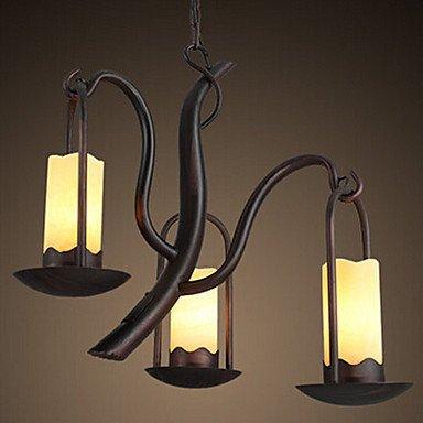BOBO lámpara de techo, 3 ligero, estilo country americano ...