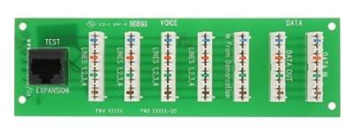 Leviton 47609-D5P MDU Data Pass Through VDSL Bridged Phone Board