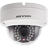 HIKVISION 3 Megapixel HD IR Vandal Proof Dome Network Security Camera, With Audio/Alarm Interface , 3MP (2048x1536), DS-2CD2132F-IS (2.8mm)
