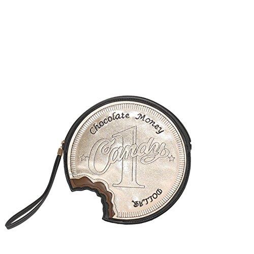 VIVIESTA, Poschette giorno donna argento Silver Taglia unica