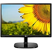 LG 22 inch Full HD, IPS Monitor with VGA, HDMI, Audio Out, Heaphone Ports - 22MP48HQ (Black)