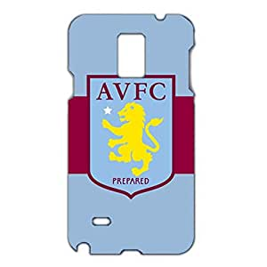 Aston Villa FC Red And Blue Printed FC Team Logo Customized Shockproof Slim Hard Plastic 3D Case LA6K101 For Samsung Galaxy Note 2