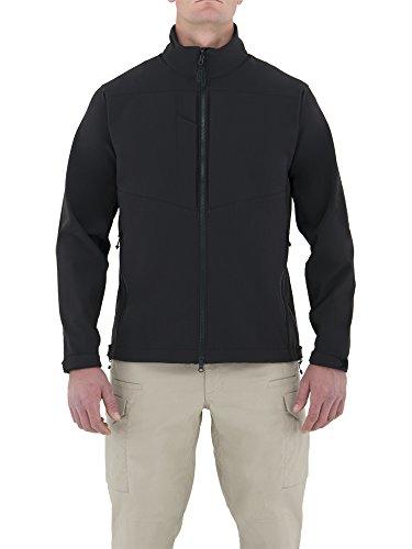 (First Tactical Men's Tactix Series Softshell Duty Jacket, Black, X-Large/Regular)