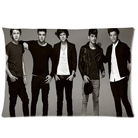 One Direction 1D Boy Band Pandora Design Custom Zippered Pillow Case 20x30 (twin sides print) (One Direction Signed Shirts)