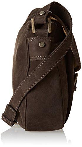 Timberland Damen Tb0m2622 Umhängetaschen, 9x24x31 cm Braun (Black Coffee)