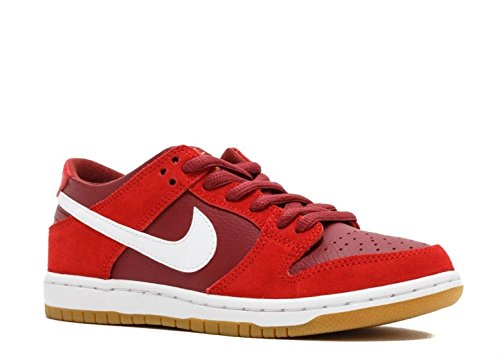 huge discount 55fb0 76589 Nike SB Zoom Dunk Low Pro Mens Trainers 854866 Sneakers Shoes (UK 6.5 US  7.5 EU 40.5, Track red White Cedar 616)