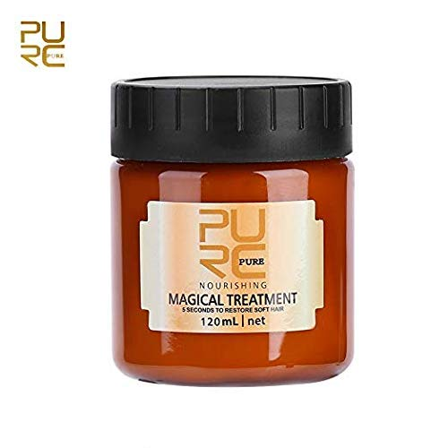 120ml magic hair mask Repair damage recovery soft hair care 5 seconds repair damage hair root by Dragon Honor