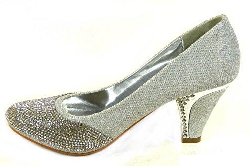 a10 Silver Femme Pour Sko's Sandales 1wZYXX