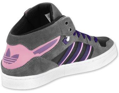 Donna Grey Purple shoe Black Size Adidas Sneaker aB5HqwqZ