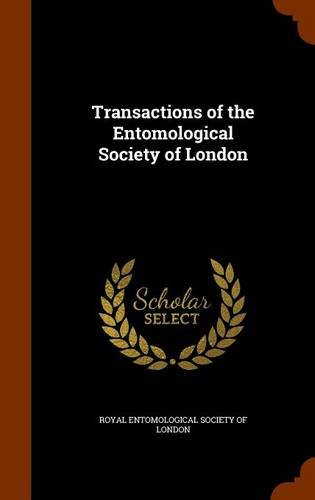 Download Transactions of the Entomological Society of London pdf