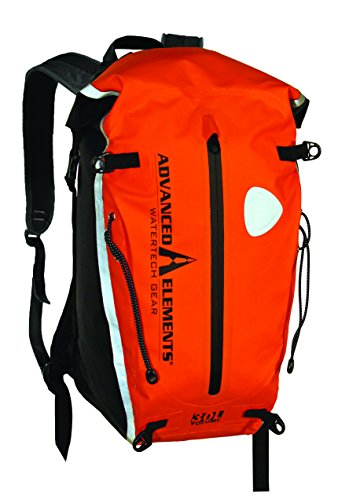 Advanced Elements 30L Deep Six Deck Pack Orange