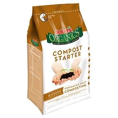 Jobe's 09926 Organic Compost Starter 4-Pound Bag