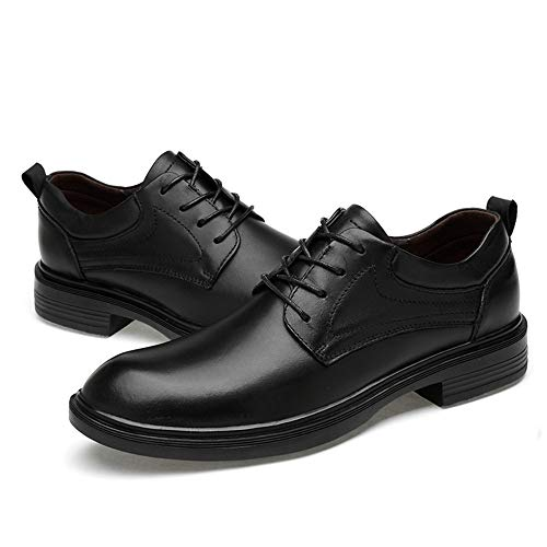 Top Oxford Confortevole Le Black Convenziona Grandi estate Business Scarpe Smooth Dimensioni Motivo Da A Black smooth 2018 Di Suede Faux Primavera Stringate Formali Con Uomo Fleece Low Inside Coccodrillo XqxZFTMAwY