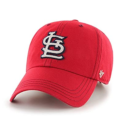 "St. Louis Cardinals 47 Brand MLB ""Woodall"" Adjustable Cotton Twill Hat from 47 Brand"