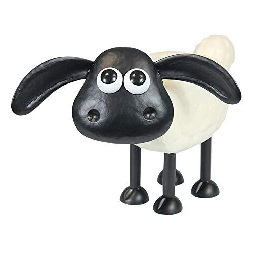 A. Perry Shaun The Sheep & Cousin Timmy Garden Sculptures - Steel Lawn Ornaments Garden Outdoor Decor Wallace & Gromit - Timmy
