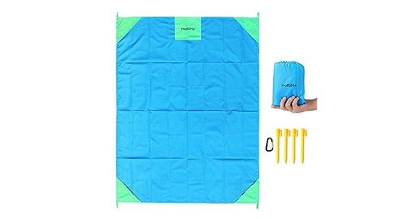 Amazon.com: Manta de picnic al aire libre 100% nailon de ...
