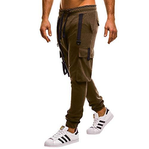 Lavoro E Camicetta Lasciami Yunyoud Uomo Verde Inverno Pantalone Più Taschino Militare Pantaloni Sportivo Casual Autunno Da qwvaxBp