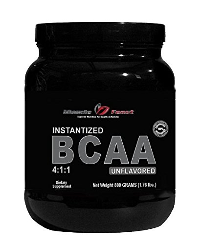 Muscle Feast Branched Chain Amino Acids (BCAA) Unflavored, 800 Grams