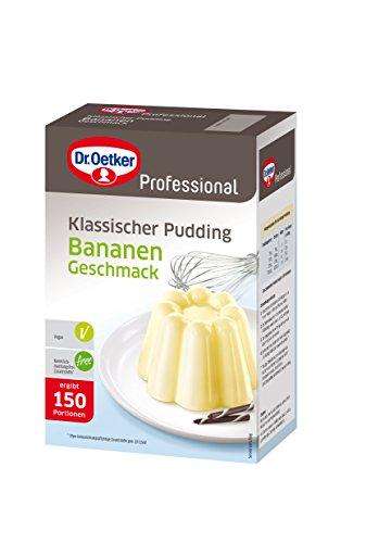 Pudding Bananen-Geschmack, 1er Pack (1 x 1000 g)