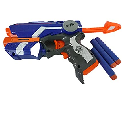 Nerf discontinued longstrike dart gun sniper rifle cs-6 n-strike blaster  elite