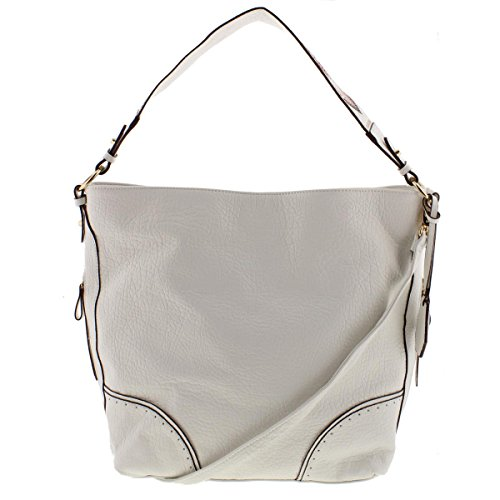 White Hobo Handbags - 4